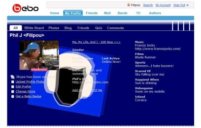 My Bebo Profile