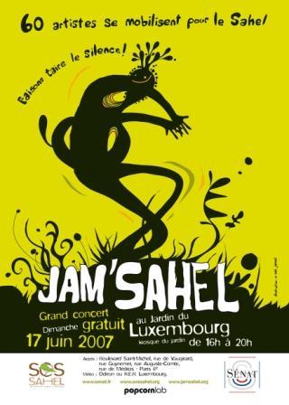 Jam'Sahel 2007Paris