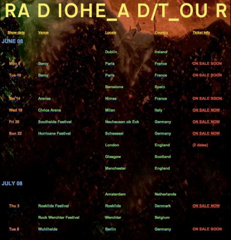 Radiohead…new album…nextstep!