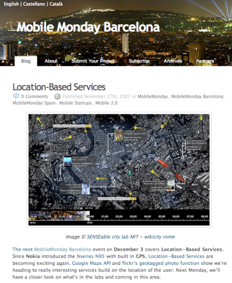 Mobile Monday inBarcelona